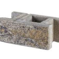 Блок для забора колотый  Антара (20х40х18 см)