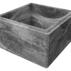 Блок для  забора Кубус (35,8х35,8х20 см)