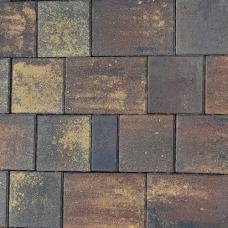 Тротуарная плитка Плаза Колор Микс (Color Mix), цвет лава
