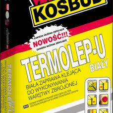 Клей для пенополистирола армированный Termolep-U (белый), 25 кг