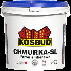 Силиконовая краска CHMURKA-SL, 10 кг