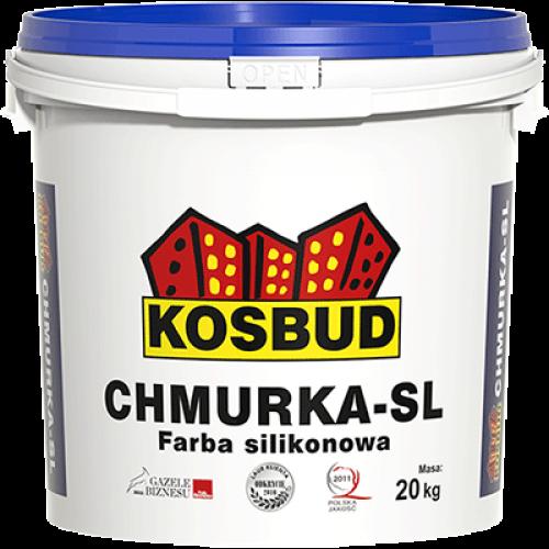 Силиконовая краска CHMURKA-SL за м.кв.