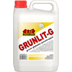 Грунтовка глубокопроникающая Grunlit-G, 5 л