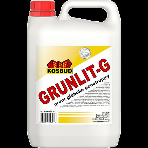 Грунтовка глубокопроникающая Grunlit-G, 5 кг
