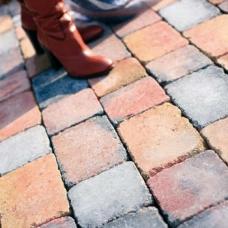 Напали состаренная - тротуарная плитка Полбрук (Polbruk)