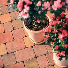 Носталит Прайм состаренный - тротуарная плитка Полбрук (Polbruk)