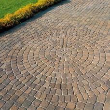 Носталит радиусный колормикс - тротуарная плитка Полбрук (Polbruk)