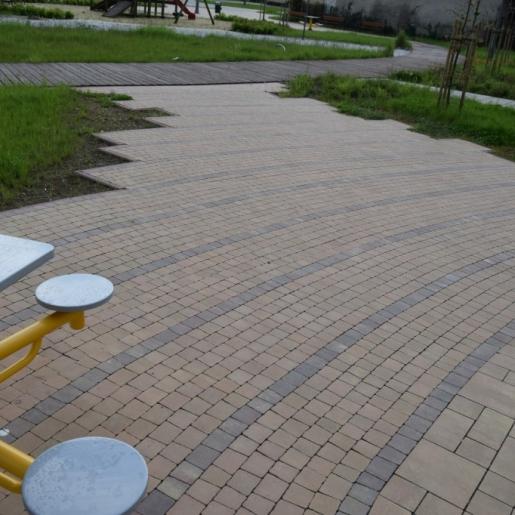 Мираж Феерия Колор - тротуарная плитка Супербет (Superbet)