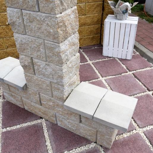 Плита 35 на 35см Аквалайн -  тротуарная плитка Супербет (Superbet)