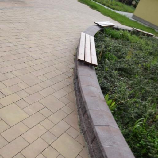 Рубико Феерия Колор  - тротуарная плитка Супербет (Superbet)
