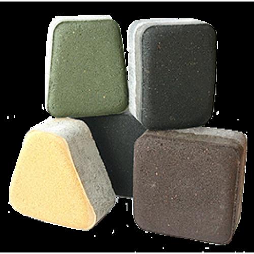 Мостовая(желтый, зеленый, коричневый, песочный, красный)
