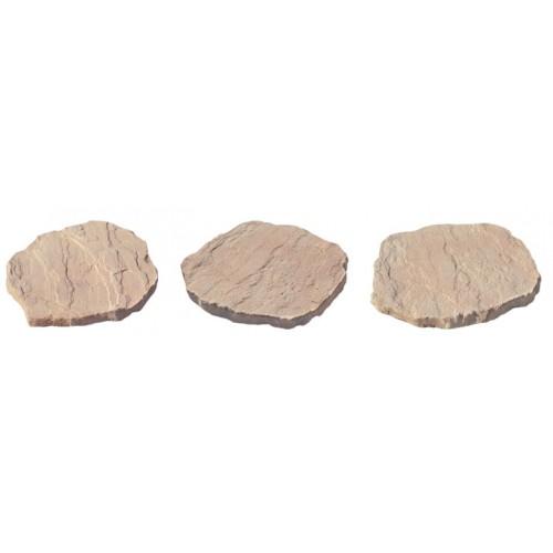 Тесанный камень. Пошаговые плиты