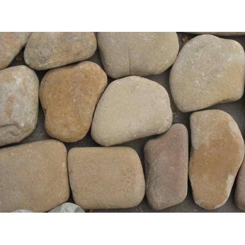 Песчаник Жёлто-коричневый оголтованный толщ.1,5-2 см