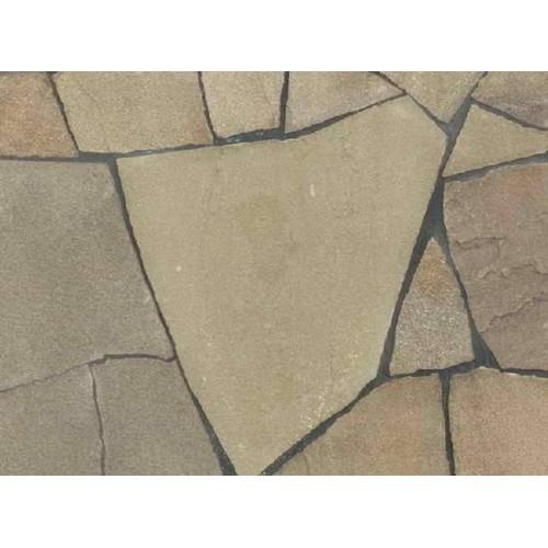Песчаник серо-зеленый для облицовки 1.5 см (МЕЛКАЯ ФРАКЦИЯ) - 15  м2 (склад Гродно)