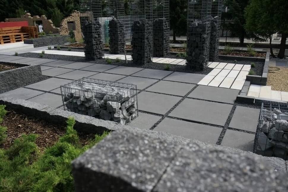Технология совмещения бетонных смесей при производстве тротуарной плитки